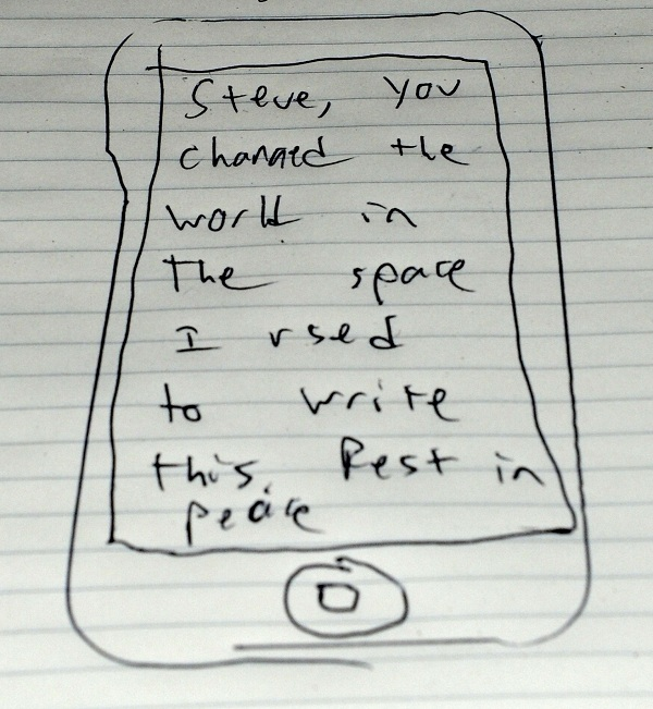 """A Letter to Steve Jobs: """"You Changed the World"""""""