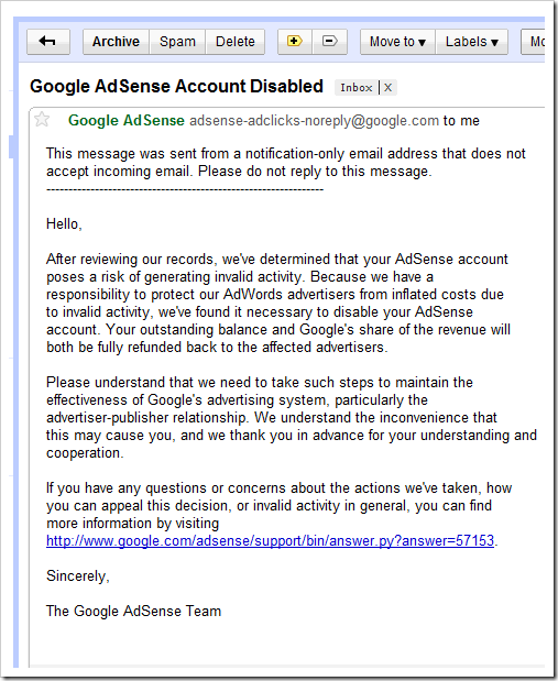 Why Google Adsense Is Not Liable ?