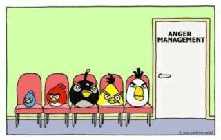 Angry Birds not be Angry Anymore (COMIC)