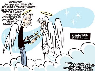 Even God Respects Steve Jobs (Comic)