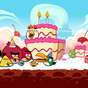 Happy BIRDday Angry Birds