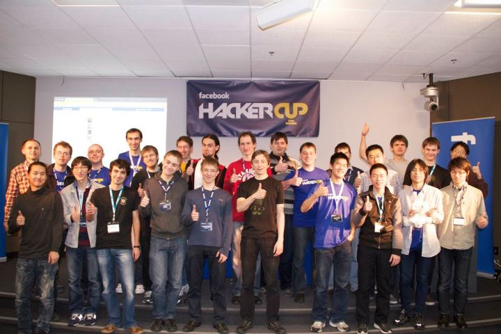 Facebook Hacker Cup 2012 Winner is Roman Andreev From Russia [Pics]
