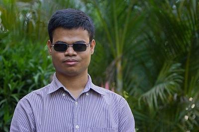 Aniruddha Kumar is Blind But Actively Edits Wikipedia