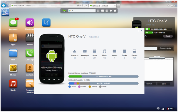 airdroid device