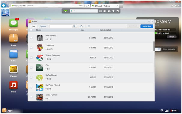 App of The Week: AirDroid, Enjoy Your Android Over The Air