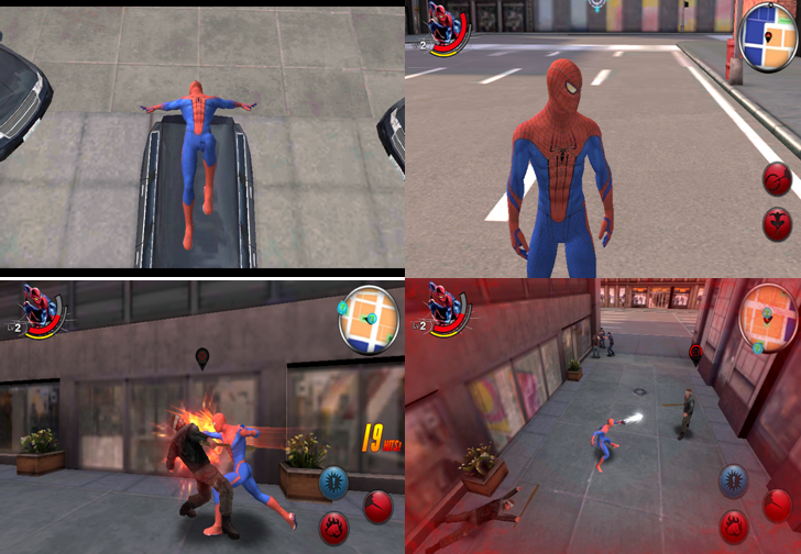 amazing spiderman screenshots