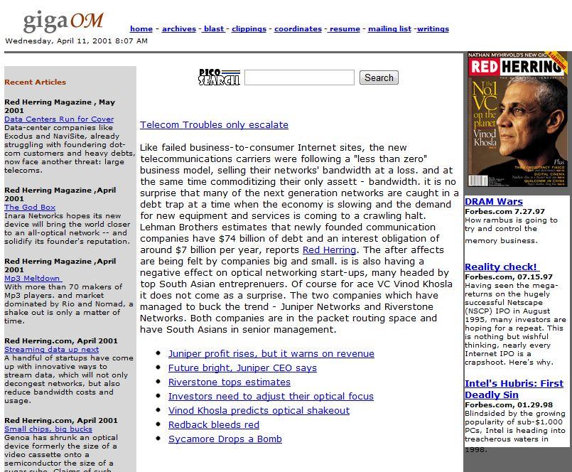 gigaom in 2001