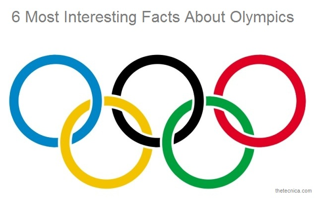 6 Most interesting olympic facts