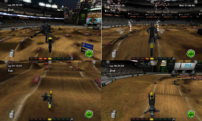 Ricky Carmichael Motocross screenshots