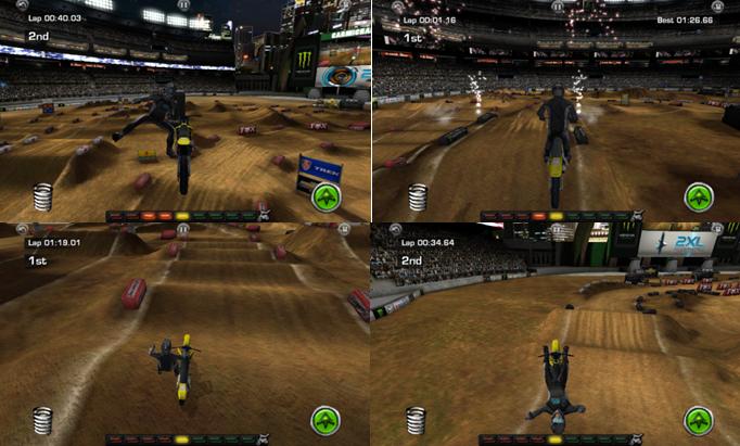 Ricky Carmichael Motocross screenshots