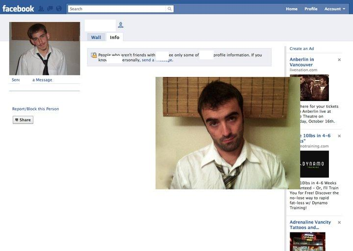 Replicating Facebook profile pics