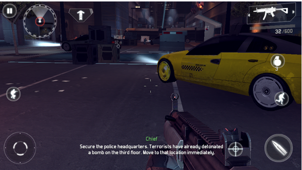 FPS game on DROID