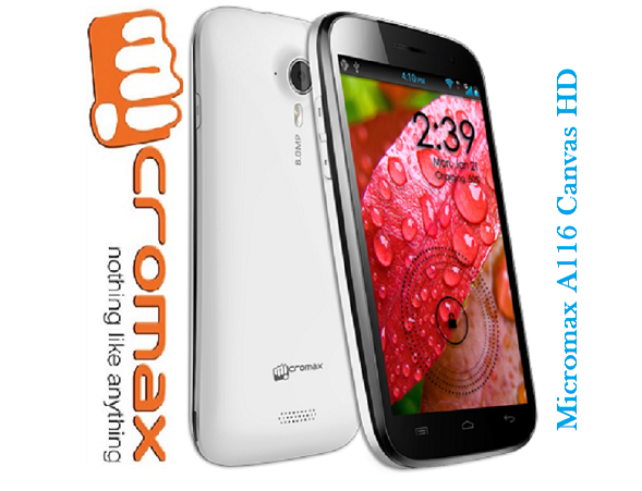 Micromax canvas a116 HD Review