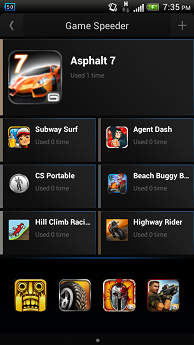 Mobile Care Game Speeder