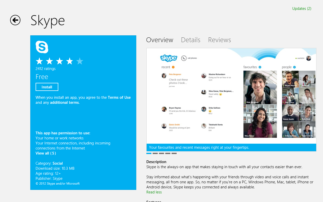 how to search for friends on skype windows 8