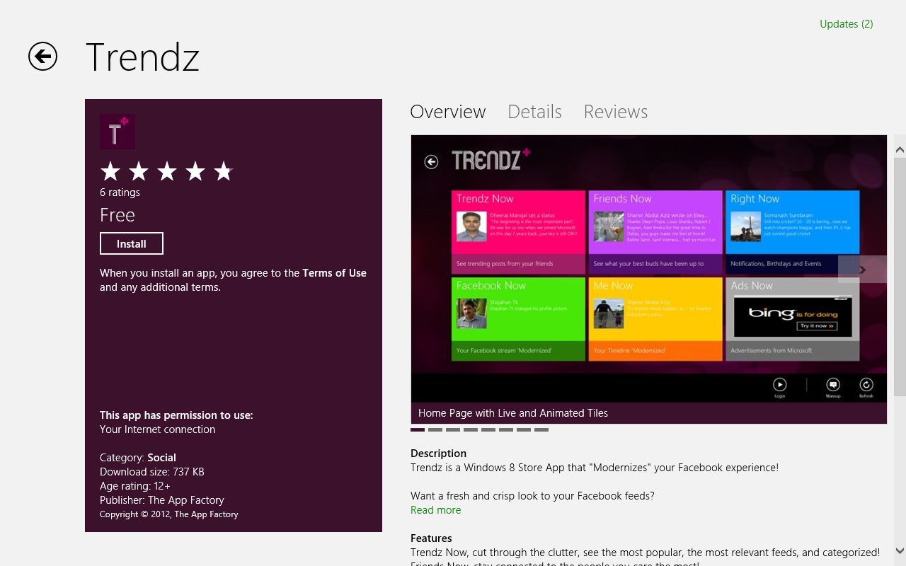 windows 7 social apps