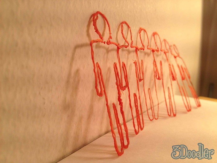 3 Doodler creation, standing ovation
