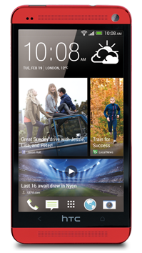 htc red