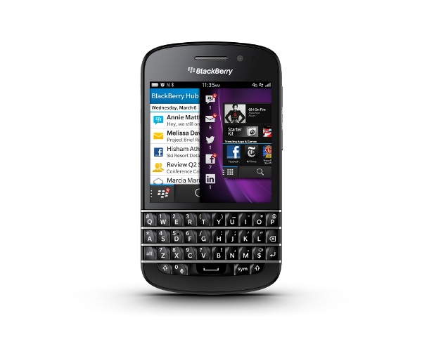 BlackBerry Q10 Specifications, Price and Launch Date