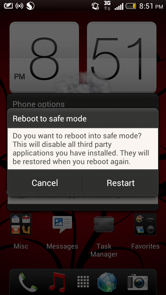 Boot in Safe Mode