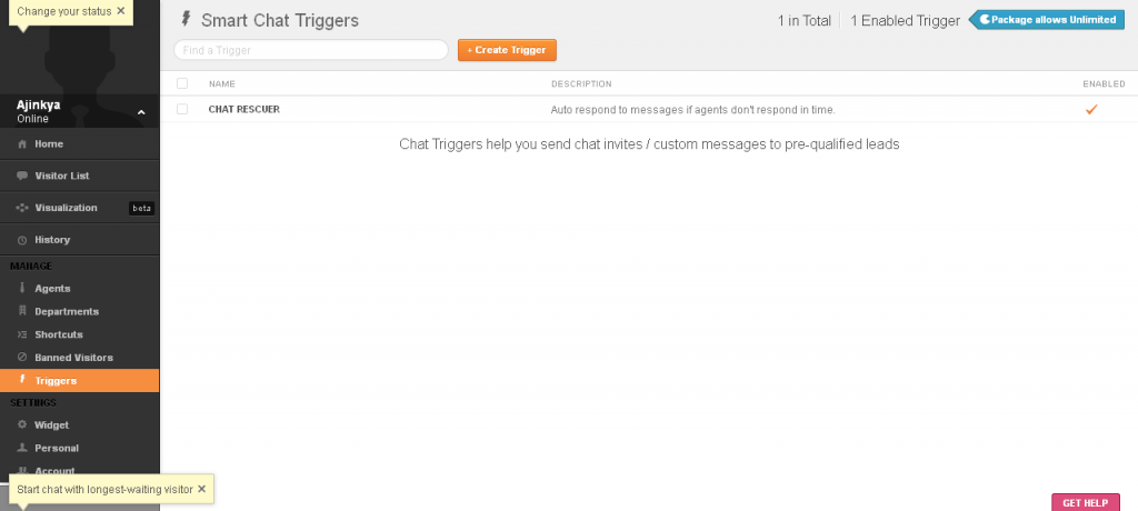 Adding Live Chat Support to Your Website with Zopim (Review) Screenshot 4