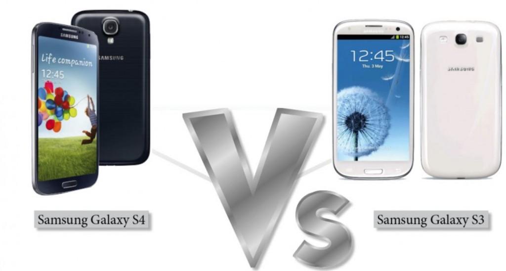 galaxy s4 vs galaxy s3 (comparison)