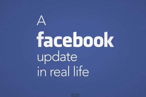 Facebook Updates in real life