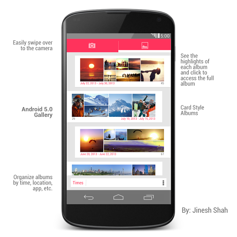 Android 5.0 Gallery