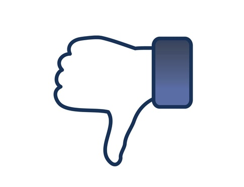 Dislike button for Facebook