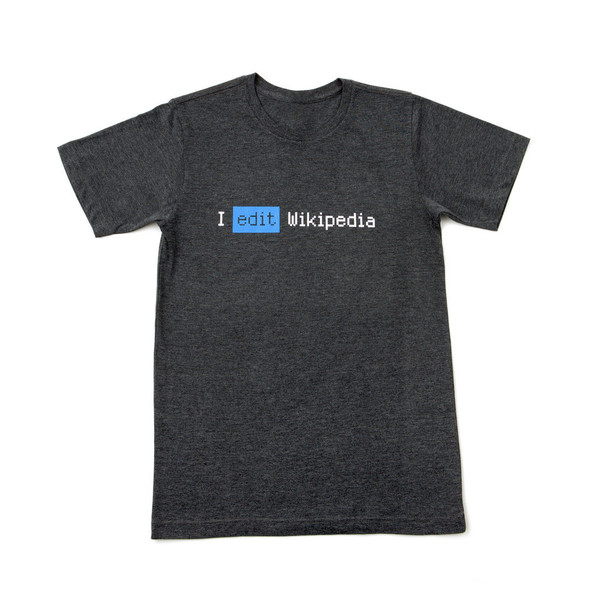 I Edit Wikipedia 'Box' Tee