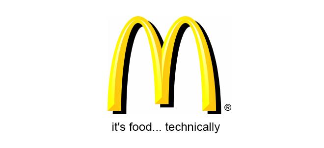 Mcdonalds Realistic Tagline