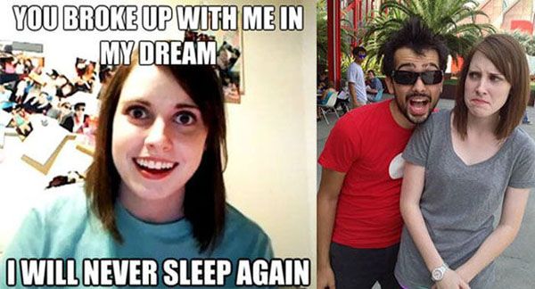 Origin of Overly Attached Girlfirend Meme