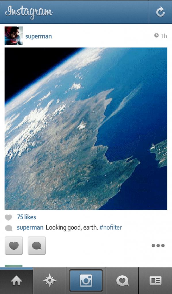 superman instagram