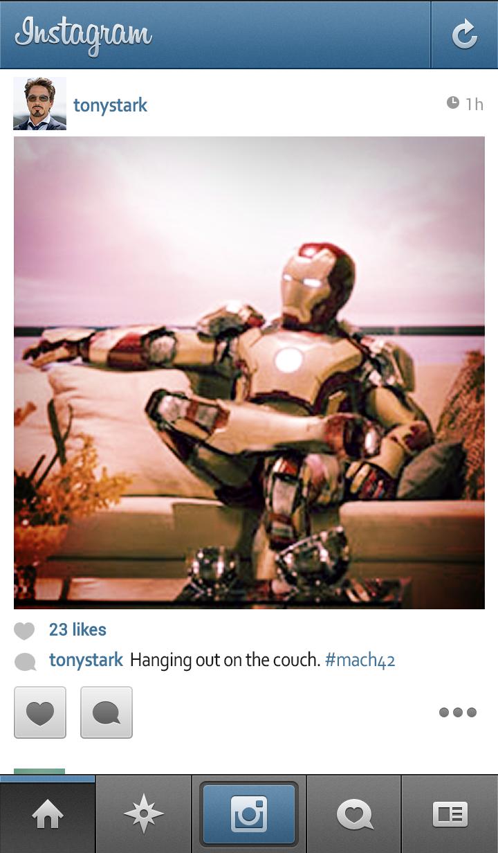 instagram post online