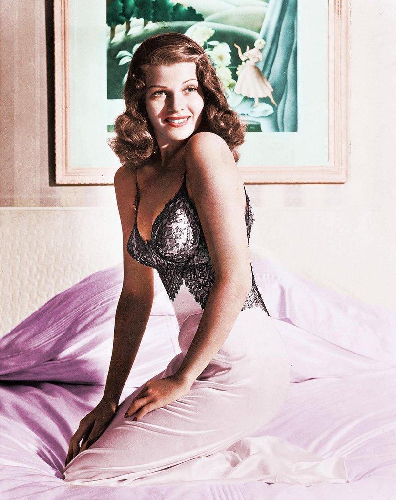 Rita Hayworth Shawshank Poster coloured