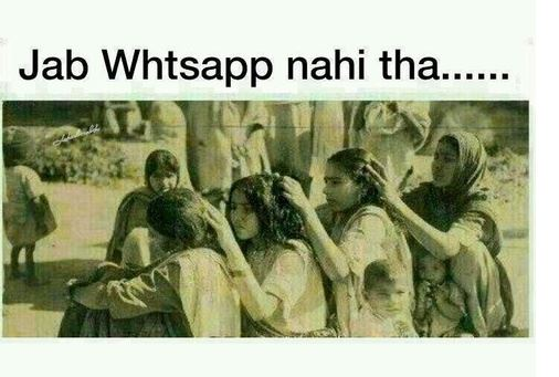 India before WhatsApp