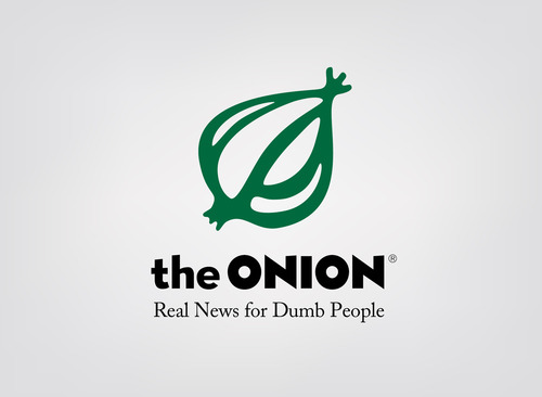 honest slogan of the onion