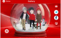 Coca Cola Christmas Snow Globe
