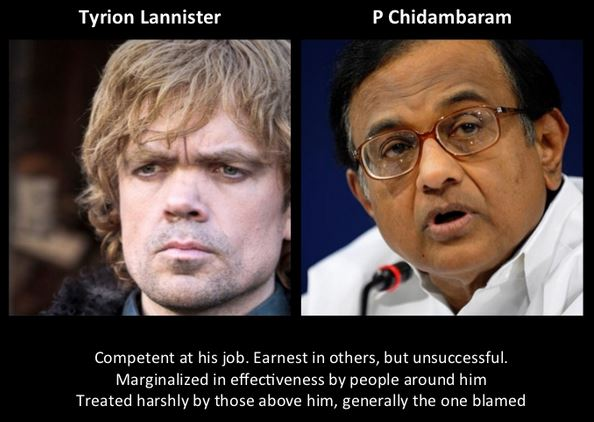 P Chidambaram as Tyrion Lannister