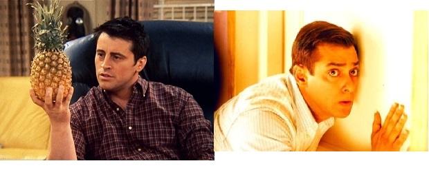 Salman Khan as joey tribbiani