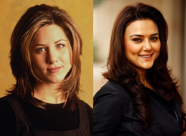 preity zinta as rachel green