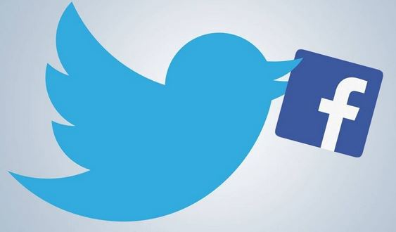 Facebook and Twitter, one on one