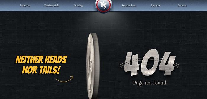 headsvstailsapp 404 page