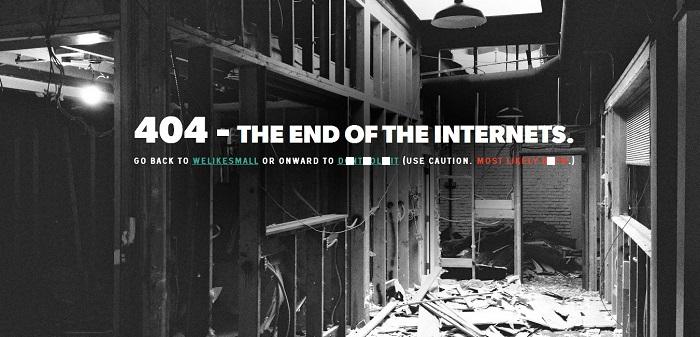 welikesmall 404 page