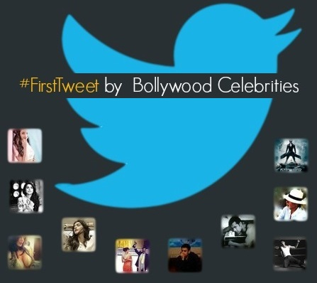 FirstTweet by  Bollywood Celebrities