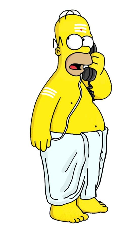 Homer Simpson iyer