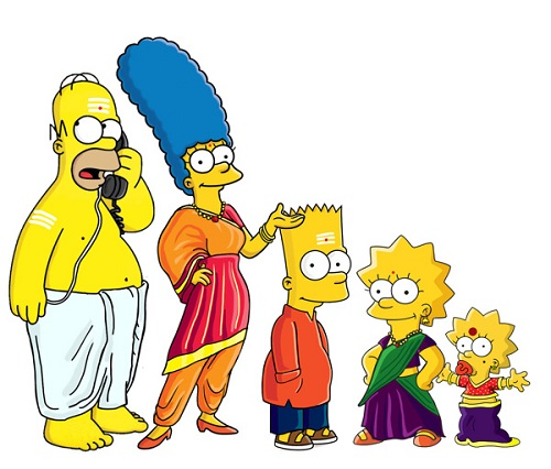 The Simpsons-iyers from India
