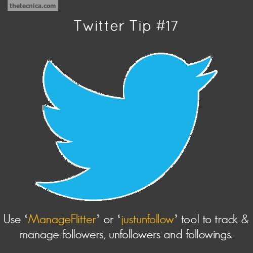 Twitter tip 17