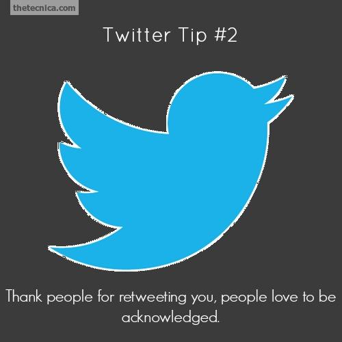 Twitter tip 2