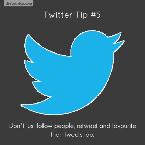 Twitter tip 5